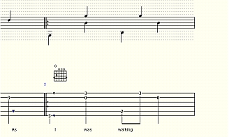 Fingerstyle Guitar Tablature