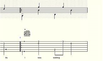 Fingerstyle Guitar Tablature
